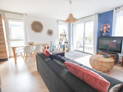 APPARTEMENT T3 A VENDRE - MARCQ EN BAROEUL - 70 m2 - 285000 €